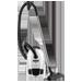 Sáčkový vysavač z řady Compact Power. Příkon: 1 400 W • Vybavení: kovové trubky • akční rádius: 7,2 m • vybavení:, hubice Vario 500, štěrbinová hubice a hubice na čalounění, kartáč • filtrace: omyvatelný mikrofiltr, mechanická indikace plného sáčku, barva bílá