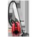 Sáčkový vysavač • max. příkon: 1 600 W • vybavení: kovové teleskopické trubky • akční rádius: 7,2 m • vybavení:, hubice Vario 500, štěrbinová hubice a hubice na čalounění, kartáč • filtrace: omyvatelný mikrofiltr, mechanická indikace plného sáčku, mechanická regulace výkonu barva červená
