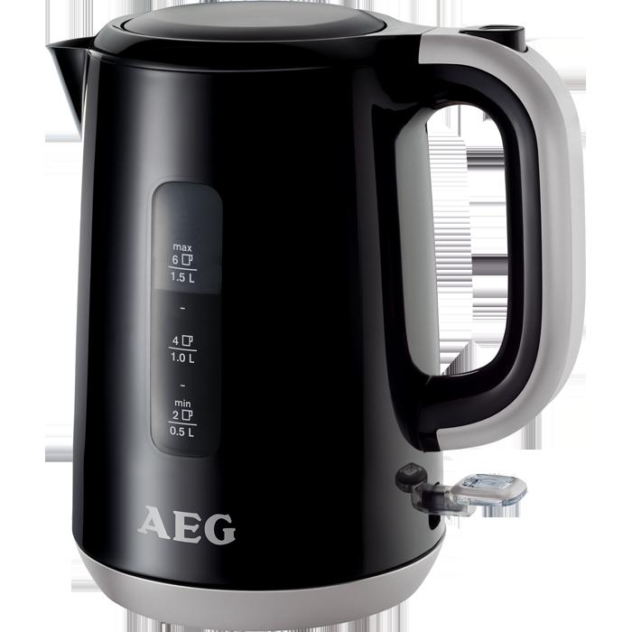 Wasserkocher  Schwarz  EWA3700  AEG ~ Wasserkocher Aeg