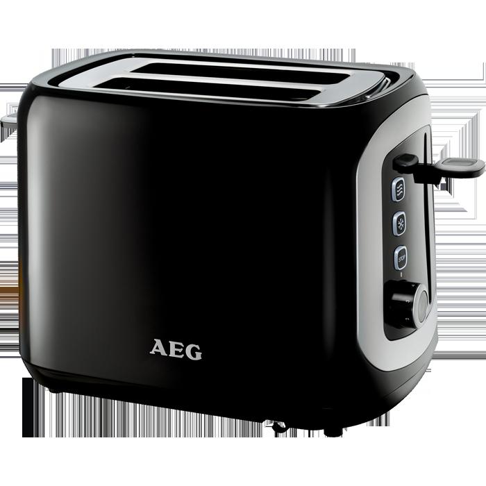 toaster schwarz at3300 aeg. Black Bedroom Furniture Sets. Home Design Ideas
