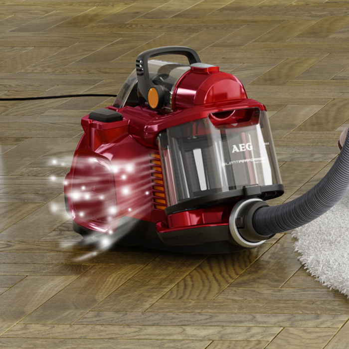 AEG - Bagless Vacuum Cleaner - ASPC7120