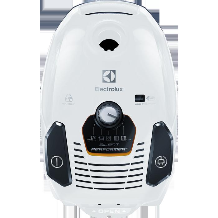aspirateur avec sac blanc glacier esp75iw4a electrolux. Black Bedroom Furniture Sets. Home Design Ideas